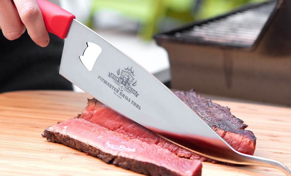 Myron Mixon Pitmaster Grill Tool Red - 3 in 1 grill tool