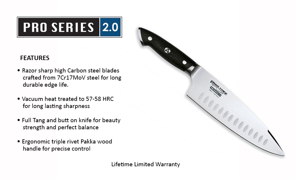 Pro Series 2.0 Knives by Ergo Chef